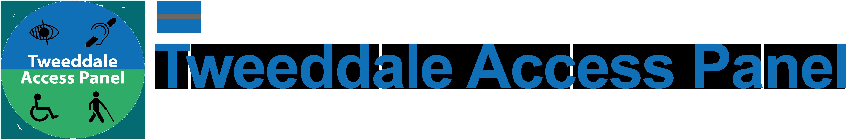 Tweeddale Access Panel Logo